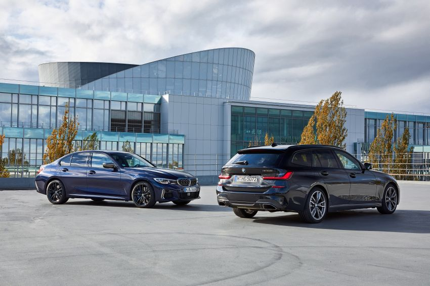 GALLERY: G21 BMW M340i xDrive Touring and G20 M340i xDrive Sedan – 369 hp, 0-100 km/h from 4.4s Image #1034879
