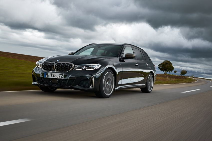 GALLERY: G21 BMW M340i xDrive Touring and G20 M340i xDrive Sedan – 369 hp, 0-100 km/h from 4.4s Image #1034839