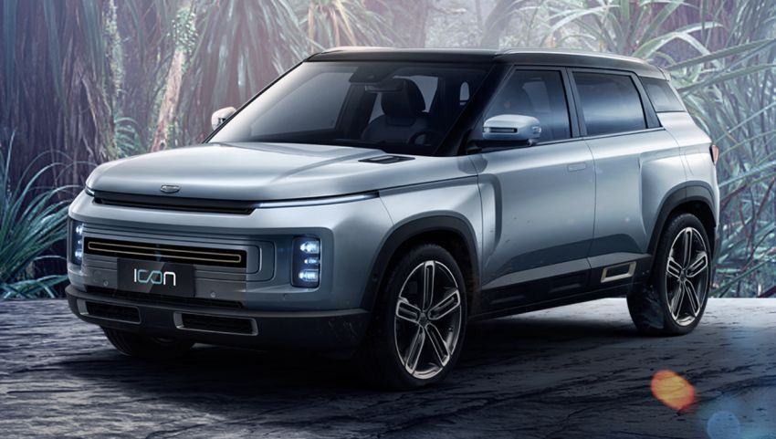 Geely Icon – first images of production SUV released Image #1031397