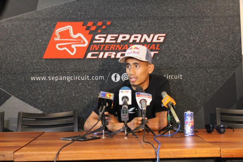 Malaysian racer Hafizh Syahrin goes back to Moto2 Image #1027269