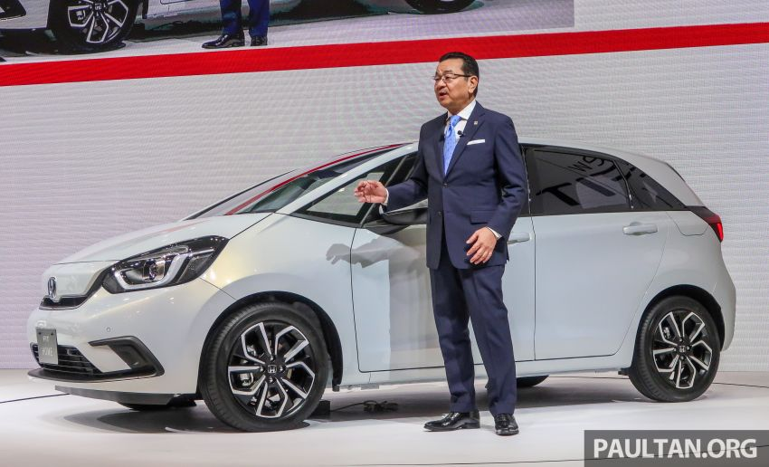 Tokyo 2019: Honda Jazz – 4th-gen debuts, five variants, two-motor i-MMD hybrid system, Sensing Image #1033793