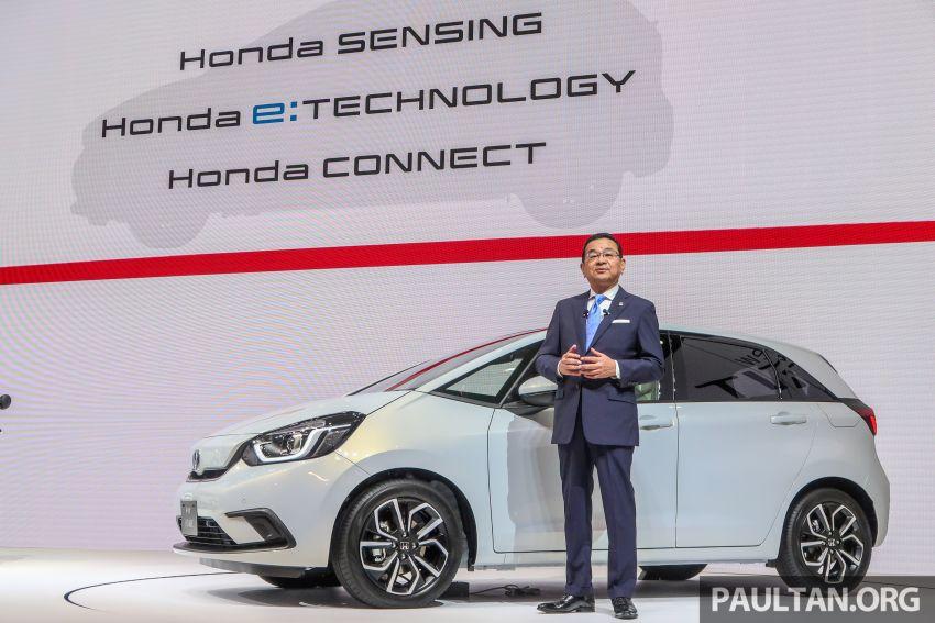 Tokyo 2019: Honda Jazz – 4th-gen debuts, five variants, two-motor i-MMD hybrid system, Sensing Image #1033795