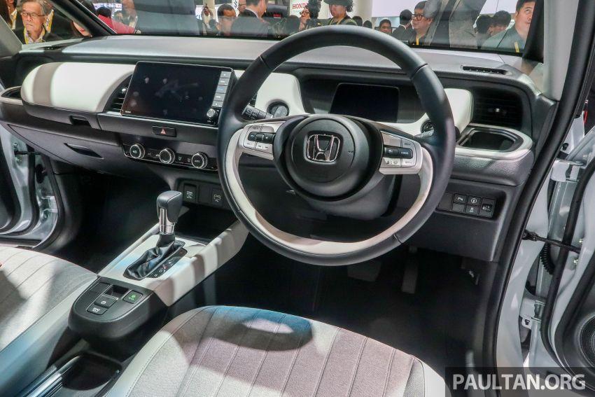 Tokyo 2019: Honda Jazz – 4th-gen debuts, five variants, two-motor i-MMD hybrid system, Sensing Image #1033808