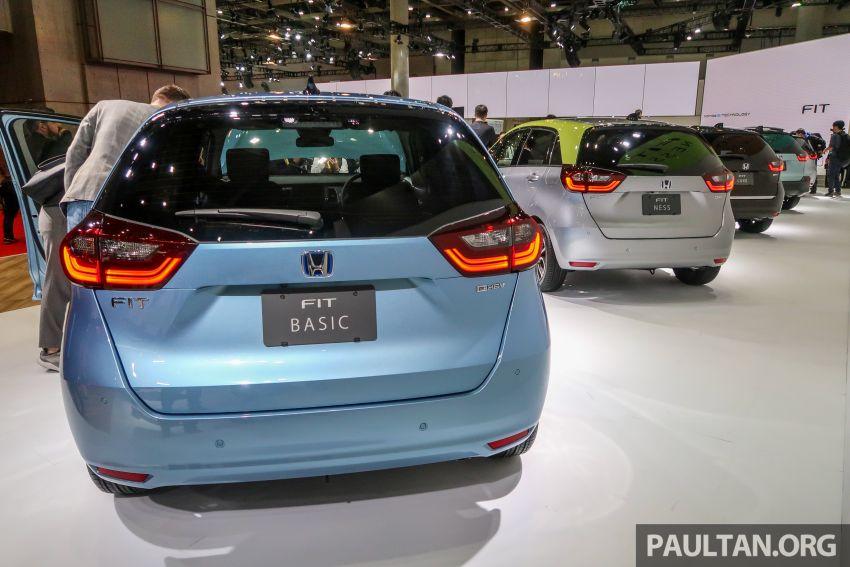 Tokyo 2019: Honda Jazz – 4th-gen debuts, five variants, two-motor i-MMD hybrid system, Sensing Image #1033878