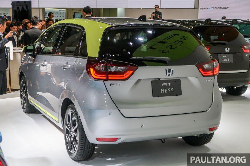 Tokyo 2019: Honda Jazz – 4th-gen debuts, five variants, two-motor i-MMD hybrid system, Sensing Image #1033879