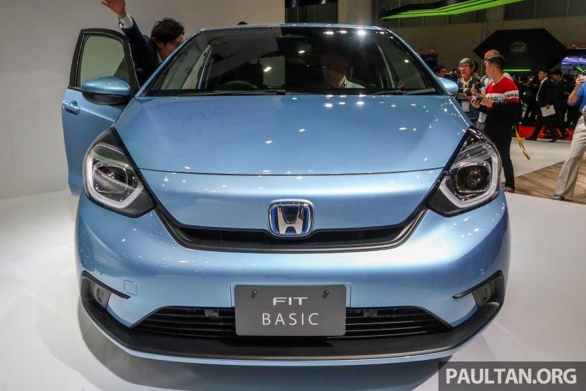 Tokyo 2019: Honda Jazz – 4th-gen debuts, five variants, two-motor i-MMD hybrid system, Sensing Image #1033882