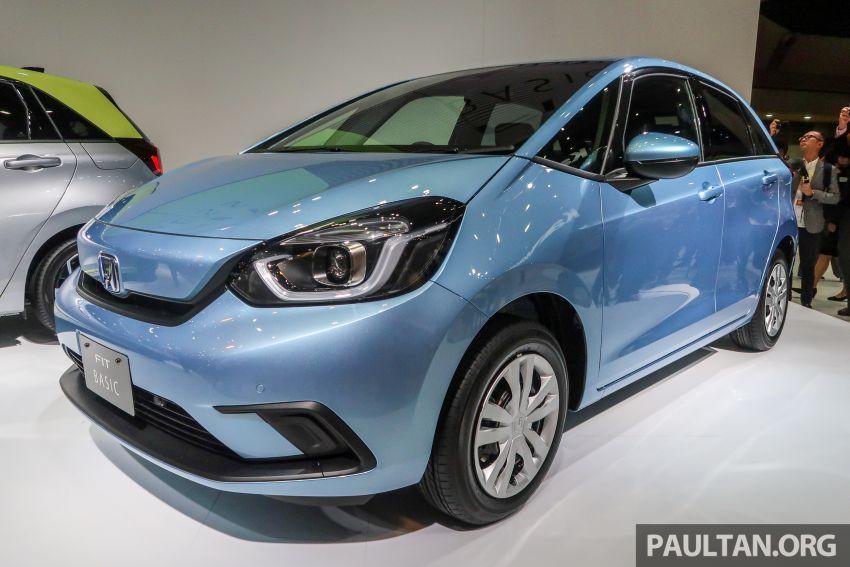 Tokyo 2019: Honda Jazz – 4th-gen debuts, five variants, two-motor i-MMD hybrid system, Sensing Image #1033883