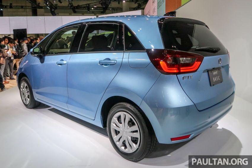 Tokyo 2019: Honda Jazz – 4th-gen debuts, five variants, two-motor i-MMD hybrid system, Sensing Image #1033886