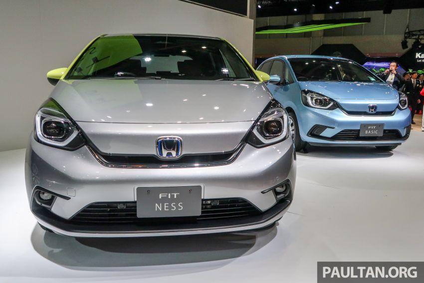 Tokyo 2019: Honda Jazz – 4th-gen debuts, five variants, two-motor i-MMD hybrid system, Sensing Image #1033894
