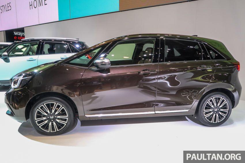 Tokyo 2019: Honda Jazz – 4th-gen debuts, five variants, two-motor i-MMD hybrid system, Sensing Image #1033895