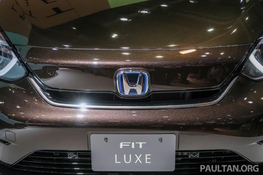 Tokyo 2019: Honda Jazz – 4th-gen debuts, five variants, two-motor i-MMD hybrid system, Sensing Image #1033907
