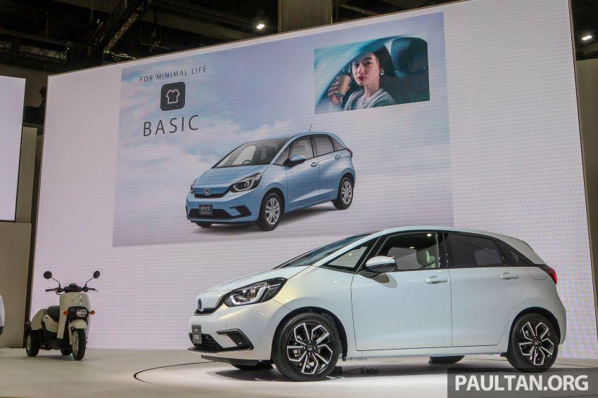 Tokyo 2019: Honda Jazz – 4th-gen debuts, five variants, two-motor i-MMD hybrid system, Sensing Image #1033782