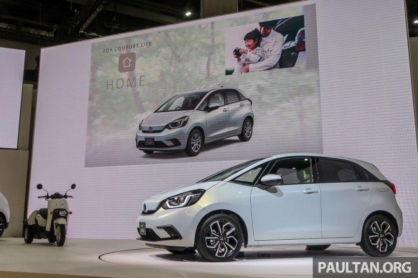Tokyo 2019: Honda Jazz – 4th-gen debuts, five variants, two-motor i-MMD hybrid system, Sensing Image #1033785
