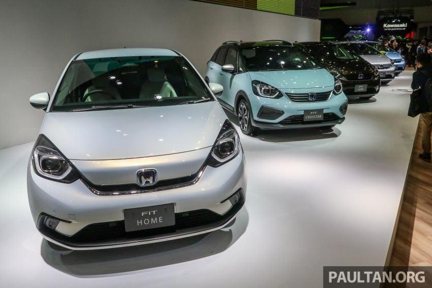 Tokyo 2019: Honda Jazz – 4th-gen debuts, five variants, two-motor i-MMD hybrid system, Sensing Image #1033936