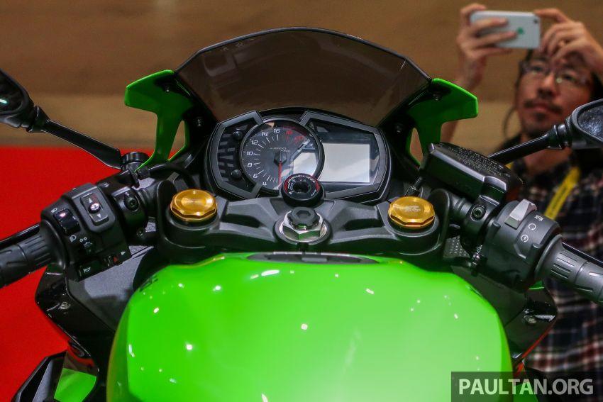 Tokyo 2019: Kawasaki Z H2 dan Ninja ZX-25R  didedah – naked supercharge 200 PS dan 250 cc 4 silinder Image #1034410