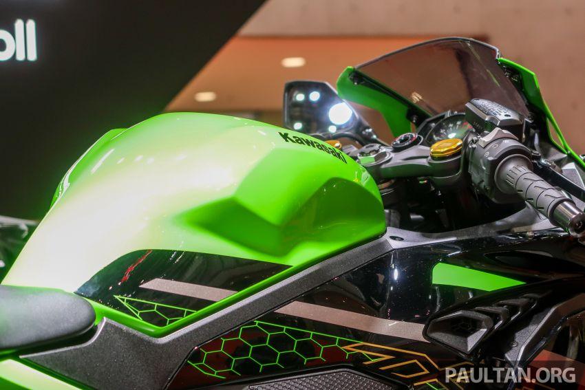 Tokyo 2019: Kawasaki Z H2 dan Ninja ZX-25R  didedah – naked supercharge 200 PS dan 250 cc 4 silinder Image #1034374