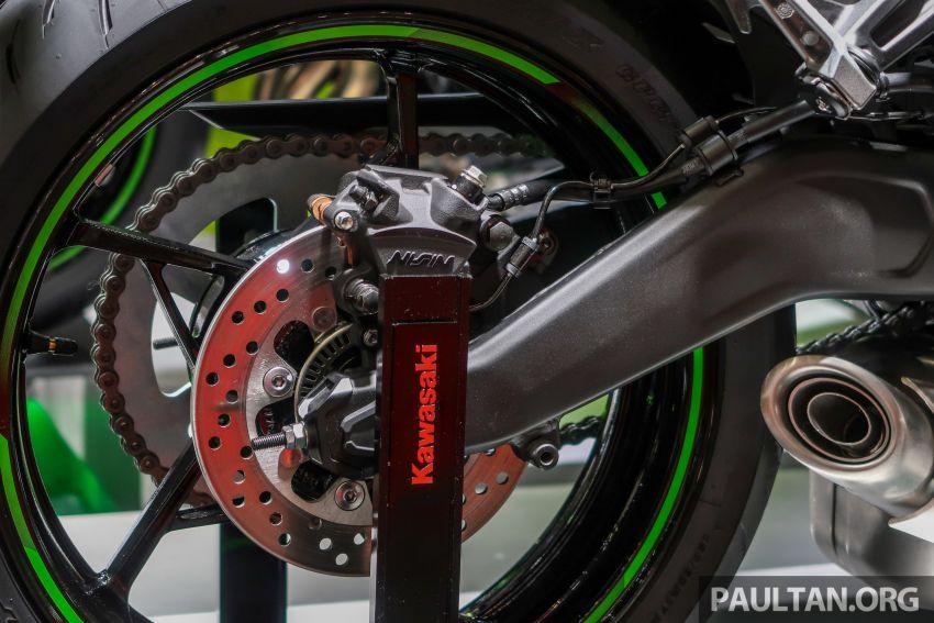 Tokyo 2019: Kawasaki Z H2 dan Ninja ZX-25R  didedah – naked supercharge 200 PS dan 250 cc 4 silinder Image #1034416