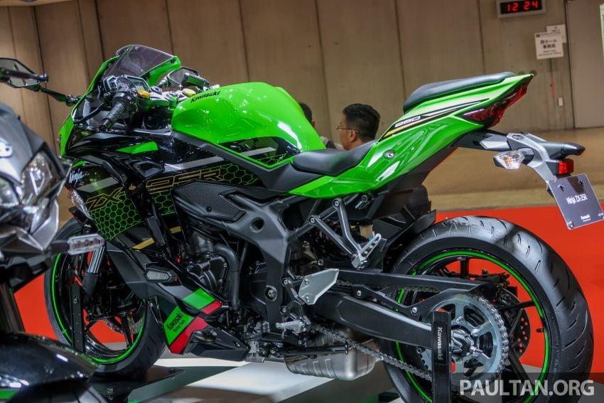 Tokyo 2019: Kawasaki Z H2 dan Ninja ZX-25R  didedah – naked supercharge 200 PS dan 250 cc 4 silinder Image #1034405
