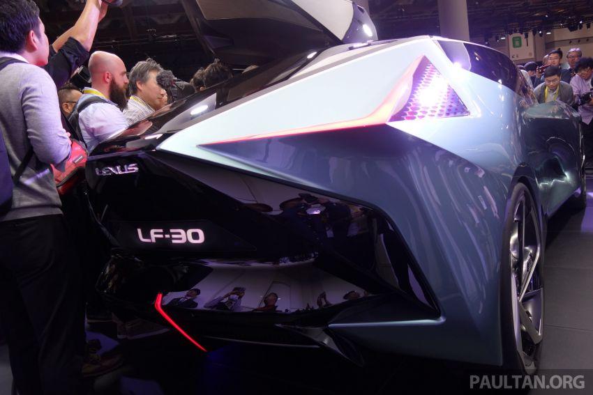 Tokyo 2019: Lexus LF-30 pamer teknologi elektrik maju Image #1034159