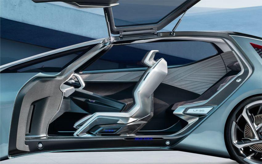 Tokyo 2019: Lexus LF-30 pamer teknologi elektrik maju Image #1034083