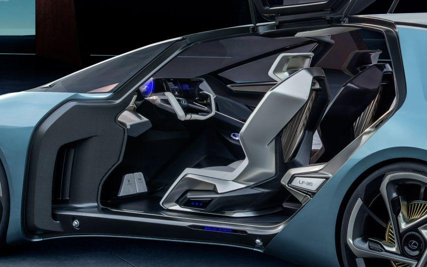 Tokyo 2019: Lexus LF-30 pamer teknologi elektrik maju Image #1034090