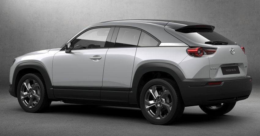 Tokyo 2019: Mazda MX-30 – brand's first EV debuts with 141 hp, 264 Nm, 209 km EV range, suicide doors! Image #1033820