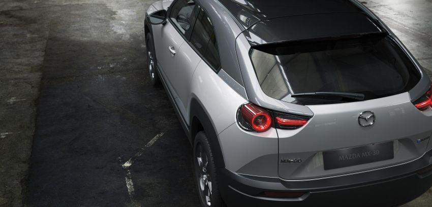 Tokyo 2019: Mazda MX-30 – brand's first EV debuts with 141 hp, 264 Nm, 209 km EV range, suicide doors! Image #1033841