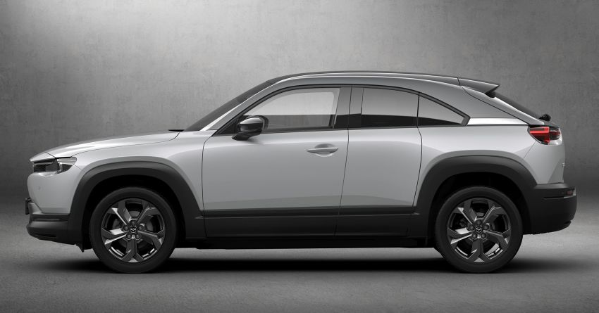 Tokyo 2019: Mazda MX-30 – brand's first EV debuts with 141 hp, 264 Nm, 209 km EV range, suicide doors! Image #1033821