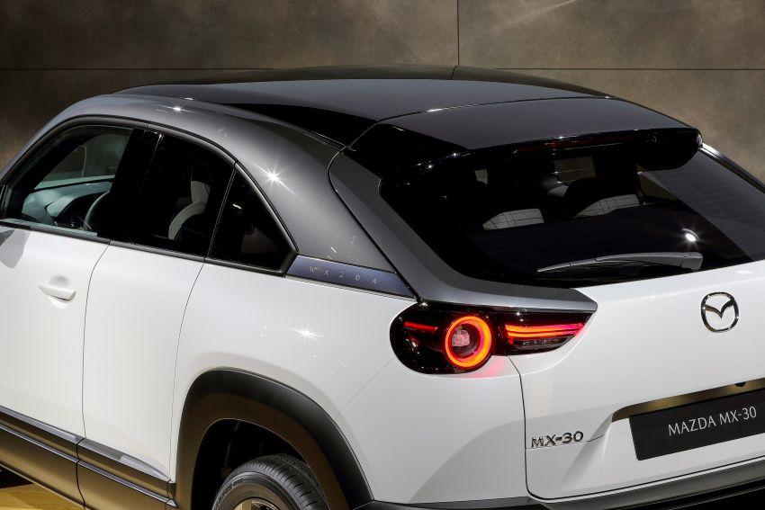 Tokyo 2019: Mazda MX-30 – brand's first EV debuts with 141 hp, 264 Nm, 209 km EV range, suicide doors! Image #1033853