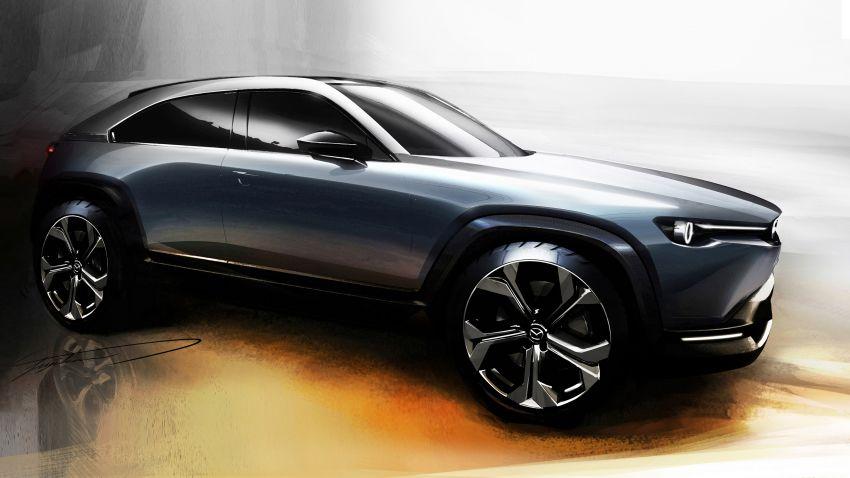 Tokyo 2019: Mazda MX-30 – brand's first EV debuts with 141 hp, 264 Nm, 209 km EV range, suicide doors! Image #1033863