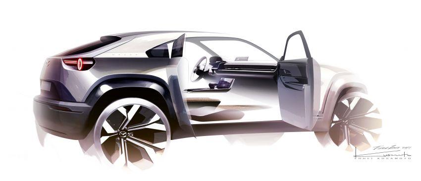 Tokyo 2019: Mazda MX-30 – brand's first EV debuts with 141 hp, 264 Nm, 209 km EV range, suicide doors! Image #1033864