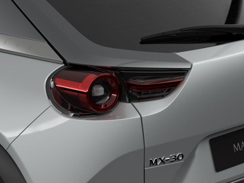 Tokyo 2019: Mazda MX-30 – brand's first EV debuts with 141 hp, 264 Nm, 209 km EV range, suicide doors! Image #1033825