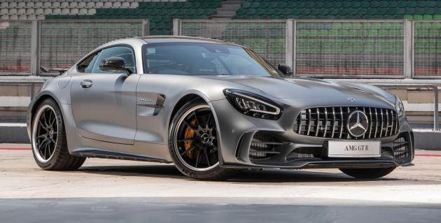 C190 Mercedes Amg Gt R Facelift Debuts Fr Rm1 7 Mil