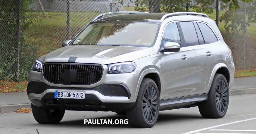SPYSHOTS: Mercedes-Maybach GLS SUV spotted testing ahead of planned debut in November this year Image #1028482