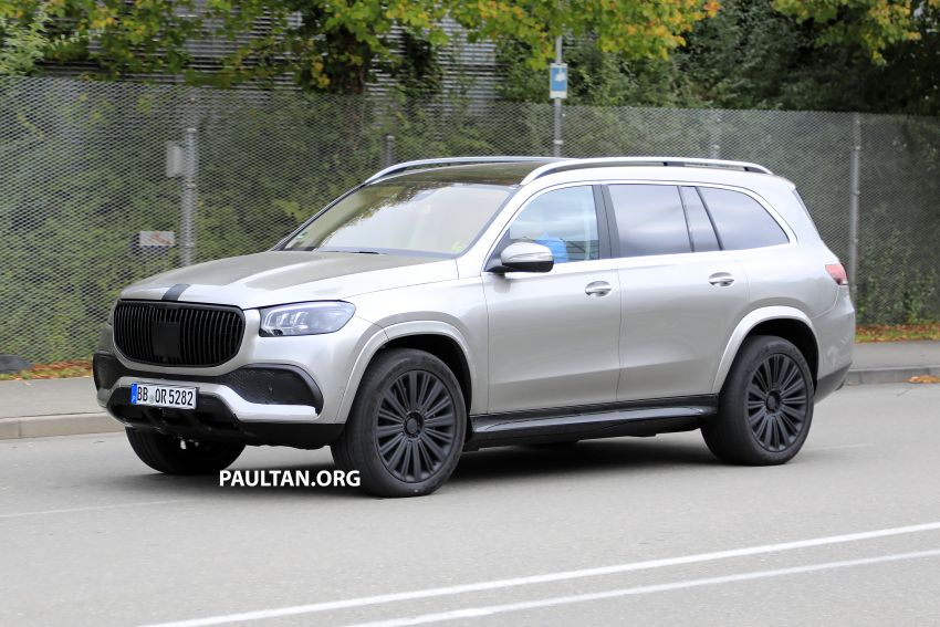 SPYSHOTS: Mercedes-Maybach GLS SUV spotted testing ahead of planned debut in November this year Image #1028484