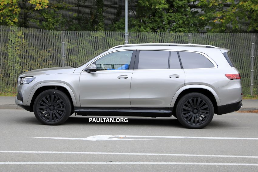SPYSHOTS: Mercedes-Maybach GLS SUV spotted testing ahead of planned debut in November this year Image #1028486