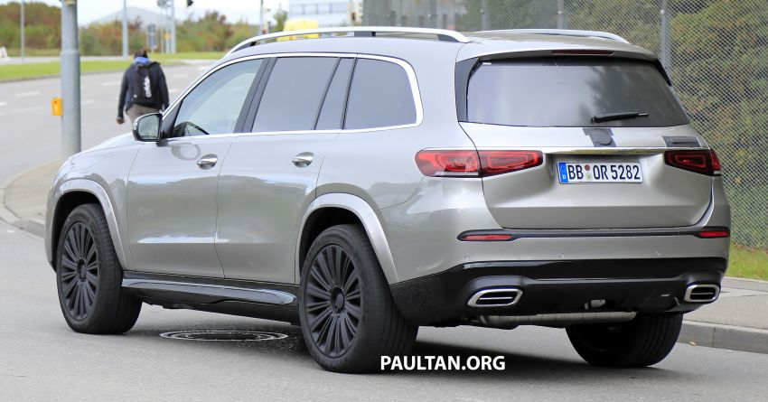 SPYSHOTS: Mercedes-Maybach GLS SUV spotted testing ahead of planned debut in November this year Image #1028511