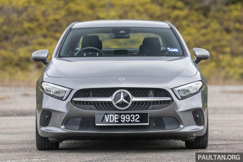DRIVEN: V177 Mercedes-Benz A200 Sedan – whelming Image #1024667