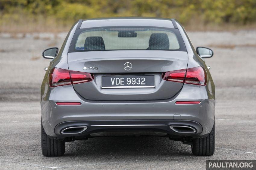 DRIVEN: V177 Mercedes-Benz A200 Sedan – whelming Image #1024668