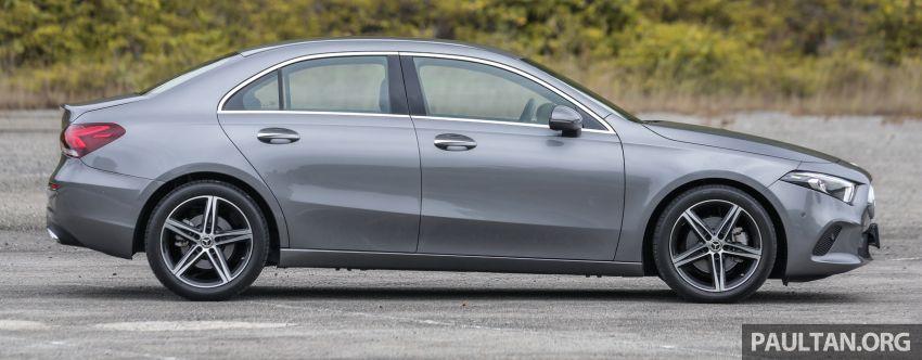 DRIVEN: V177 Mercedes-Benz A200 Sedan – whelming Image #1024671
