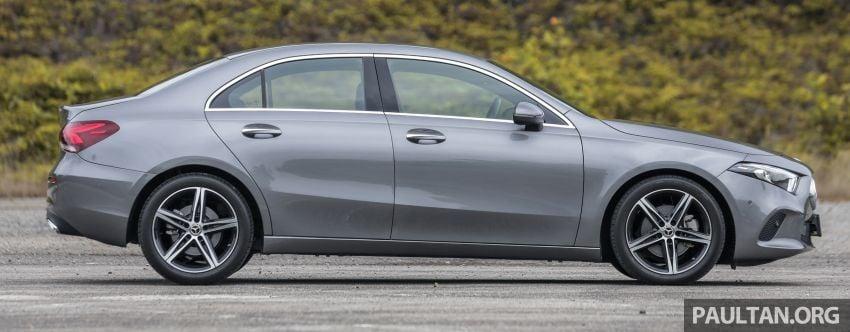 DRIVEN: V177 Mercedes-Benz A200 Sedan – whelming Image #1024672