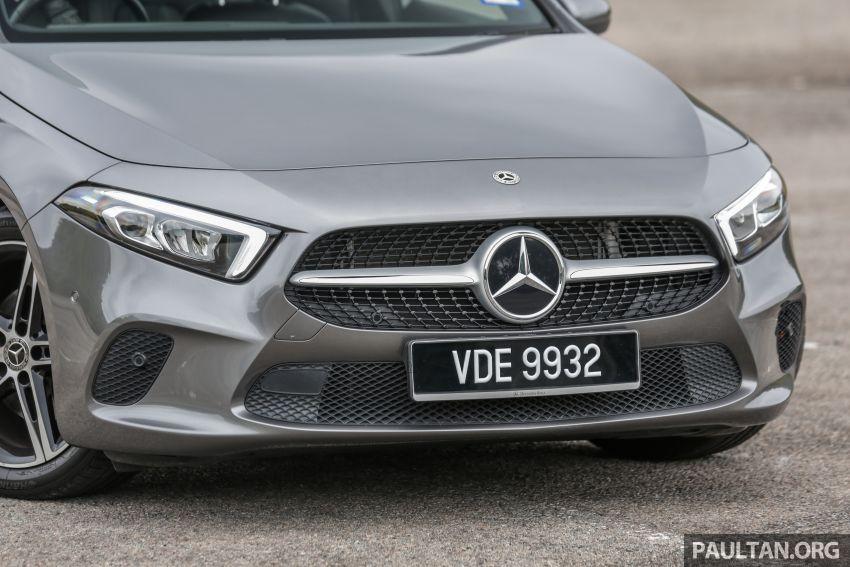 DRIVEN: V177 Mercedes-Benz A200 Sedan – whelming Image #1024673