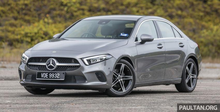 DRIVEN: V177 Mercedes-Benz A200 Sedan – whelming Image #1024658