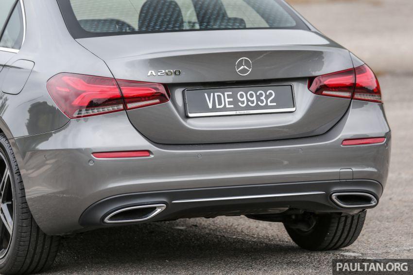 DRIVEN: V177 Mercedes-Benz A200 Sedan – whelming Image #1024687