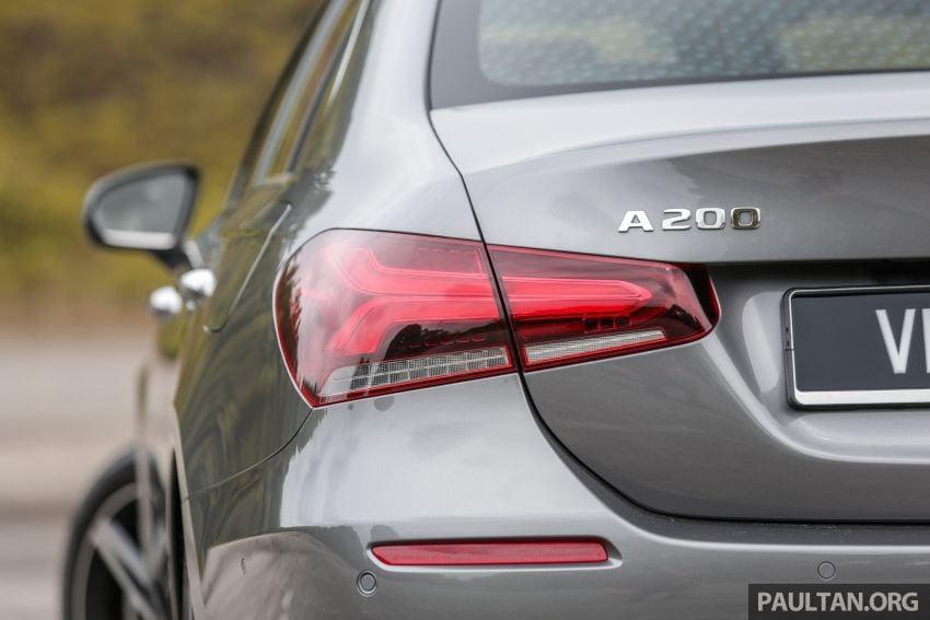 DRIVEN: V177 Mercedes-Benz A200 Sedan – whelming Image #1024688