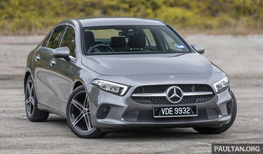 DRIVEN: V177 Mercedes-Benz A200 Sedan – whelming Image #1024659