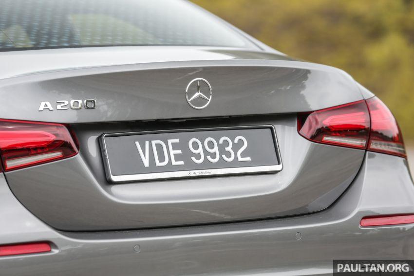 DRIVEN: V177 Mercedes-Benz A200 Sedan – whelming Image #1024691