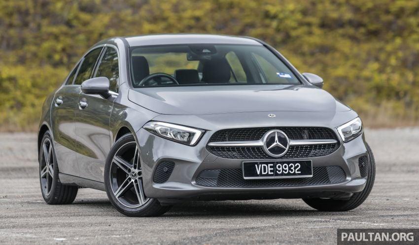DRIVEN: V177 Mercedes-Benz A200 Sedan – whelming Image #1024660