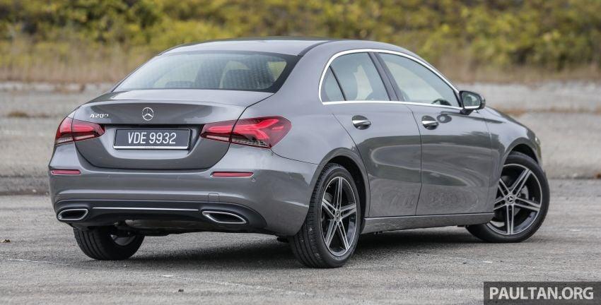 DRIVEN: V177 Mercedes-Benz A200 Sedan – whelming Image #1024662