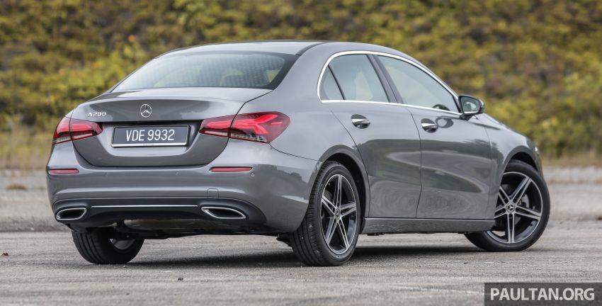 DRIVEN: V177 Mercedes-Benz A200 Sedan – whelming Image #1024663
